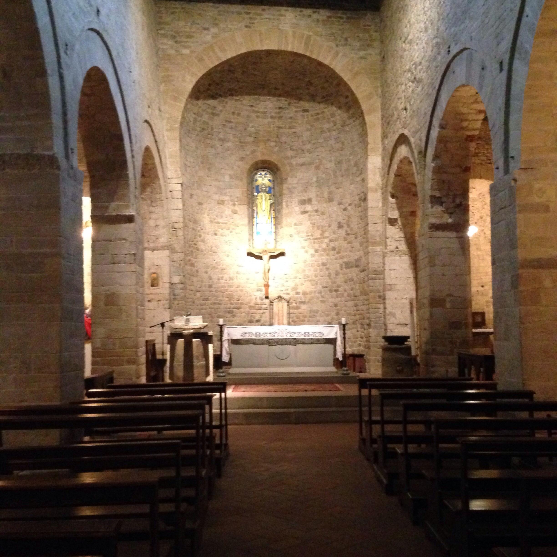 Romanesque art era on display throughout