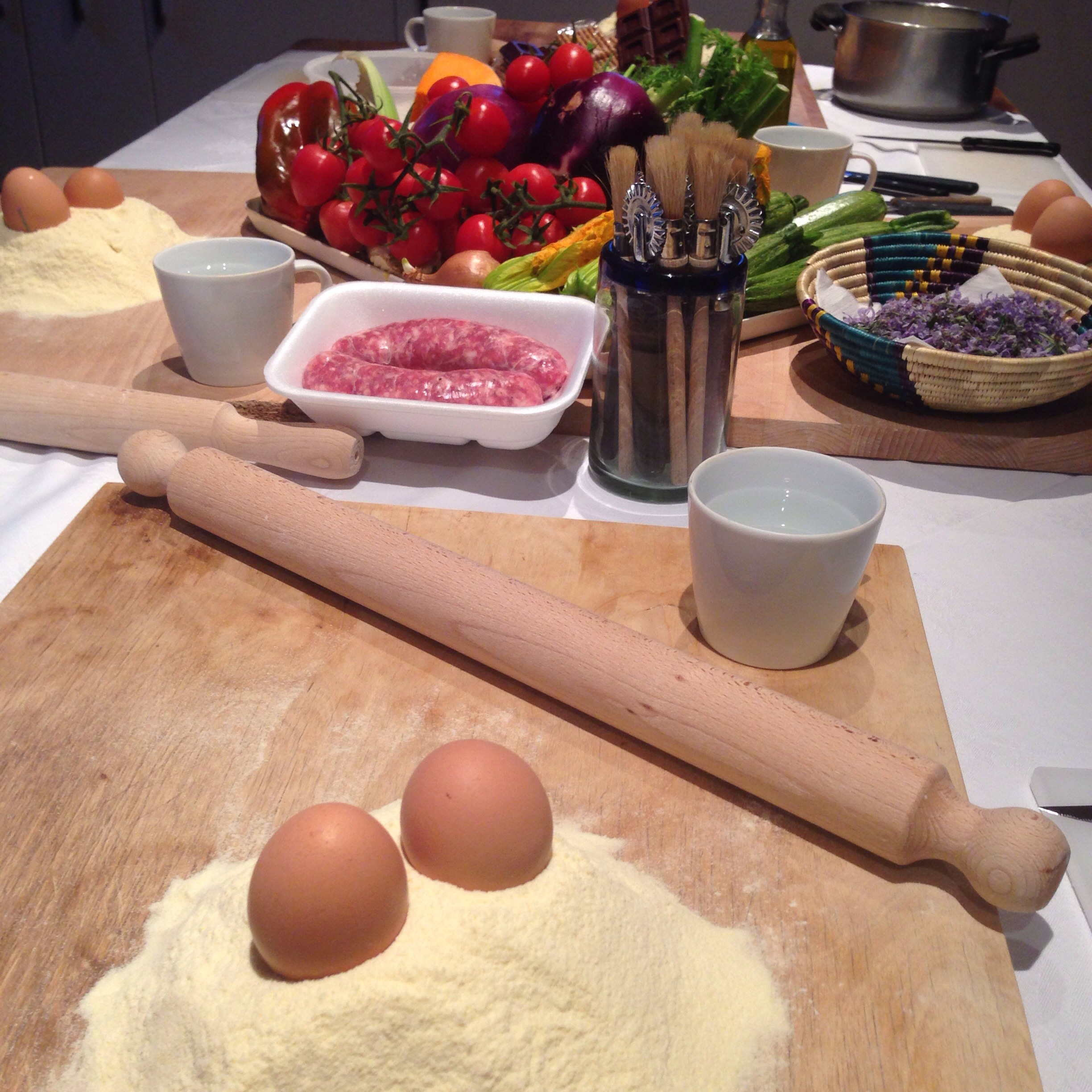 Poderinchianti cooking classes are just the way to spend an evening!