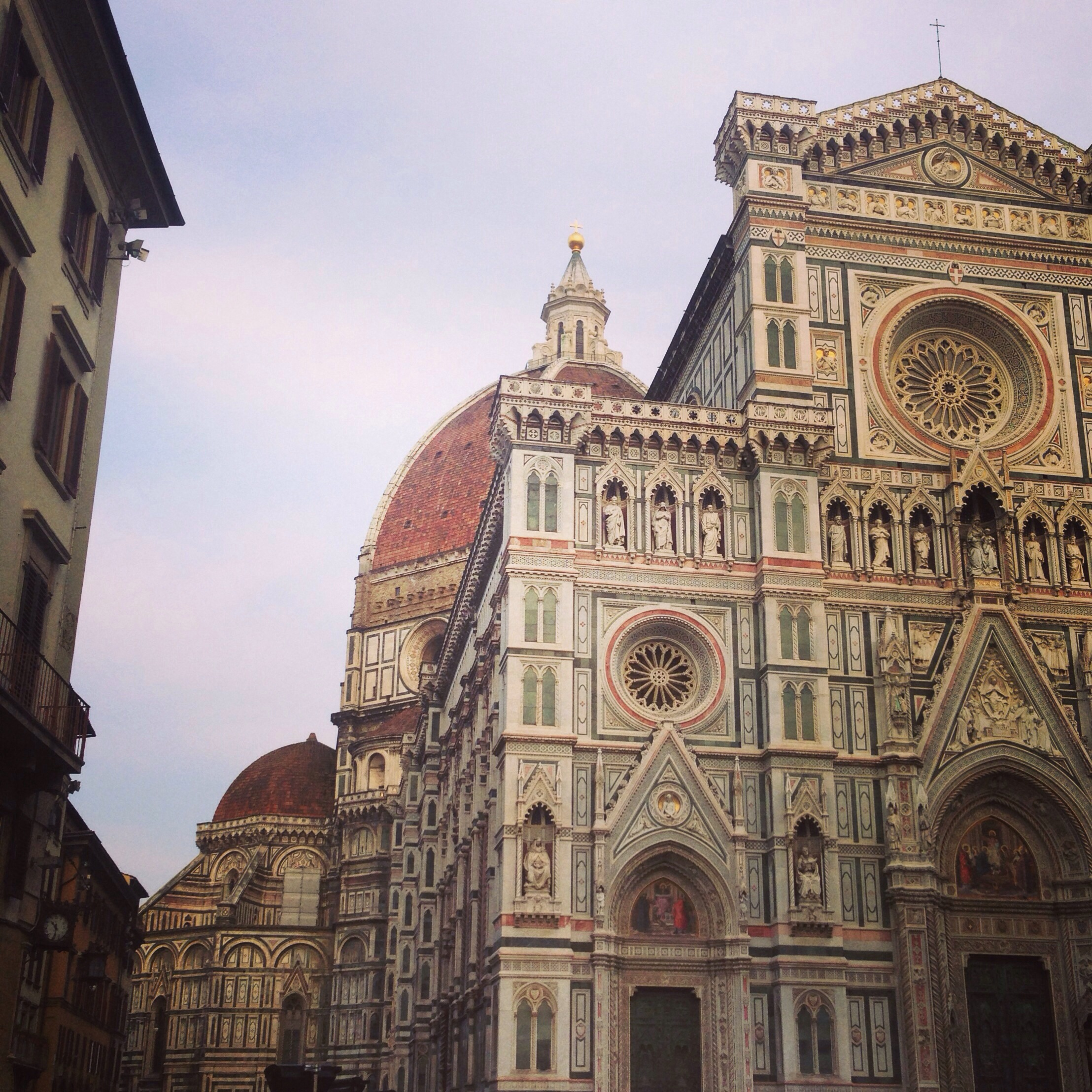 The imposing Duomo di Firenze