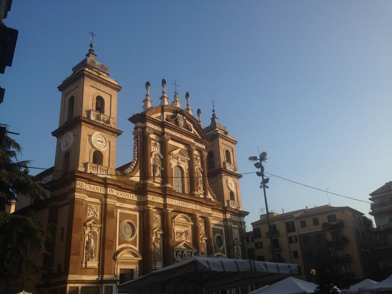 Visit the cathedral of Frascati, St Peter's. Located in the heart of the town, you won't miss it.
