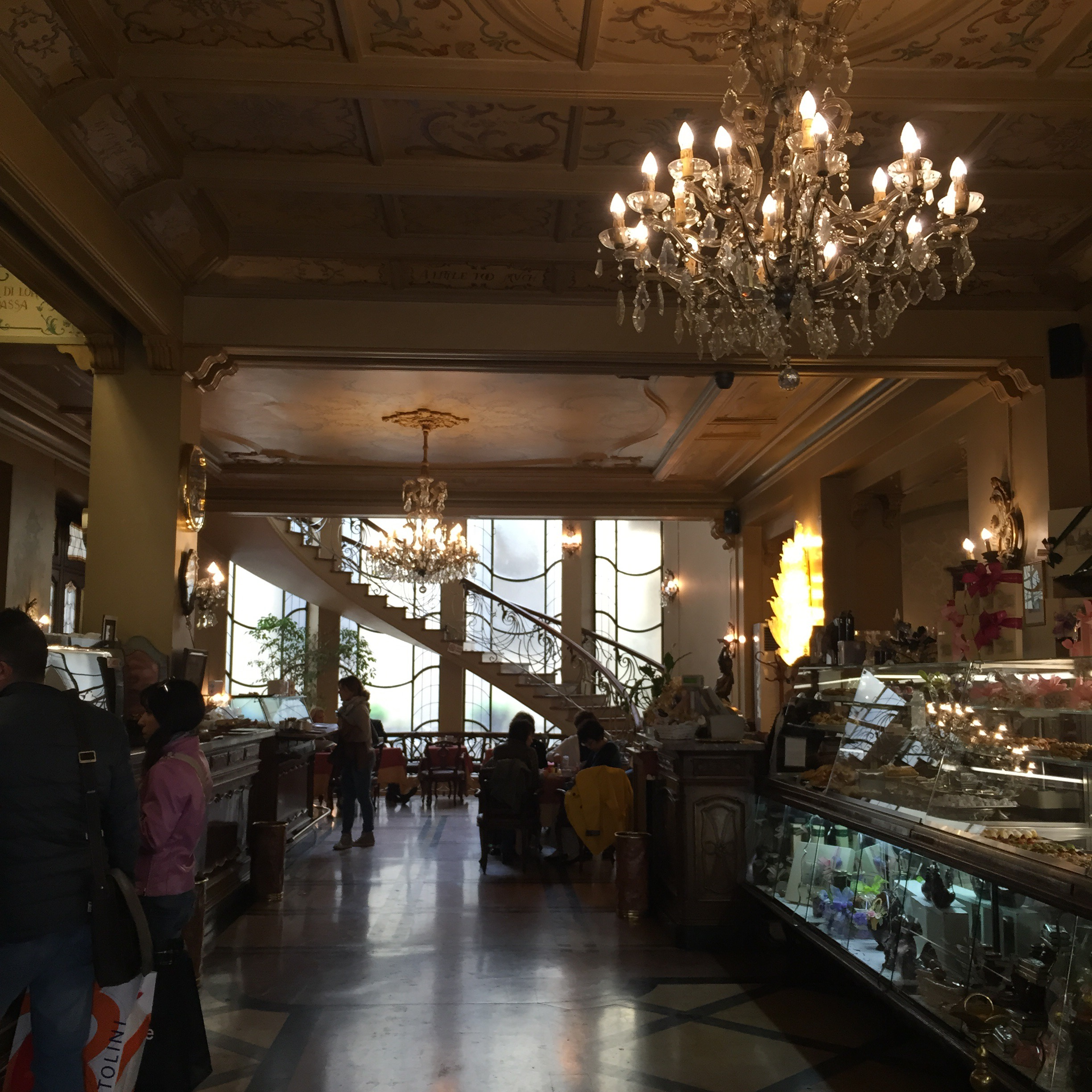 The historic Caffe Torino is simply stunning