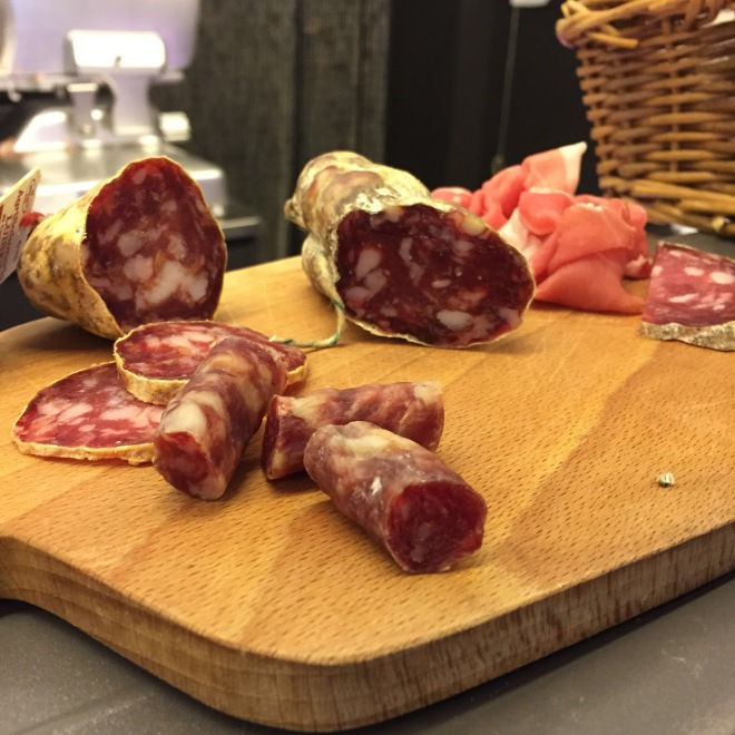 Salumi are top quality around here, it will be hard to stop at tasting just one