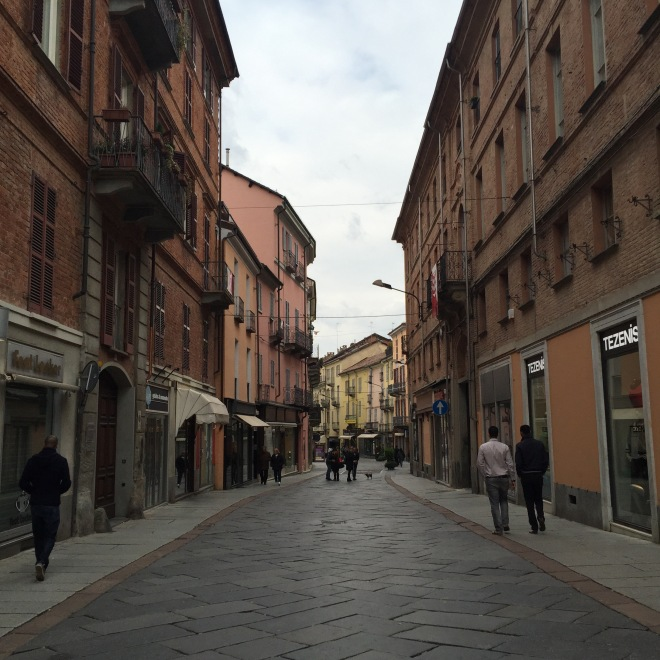 So many pretty towns - these are the streets of Asti