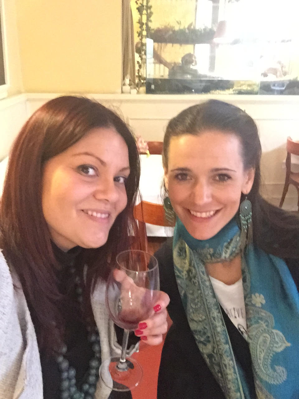 Selfie with Mirka - our lovely and talented Prague foodie guide!
